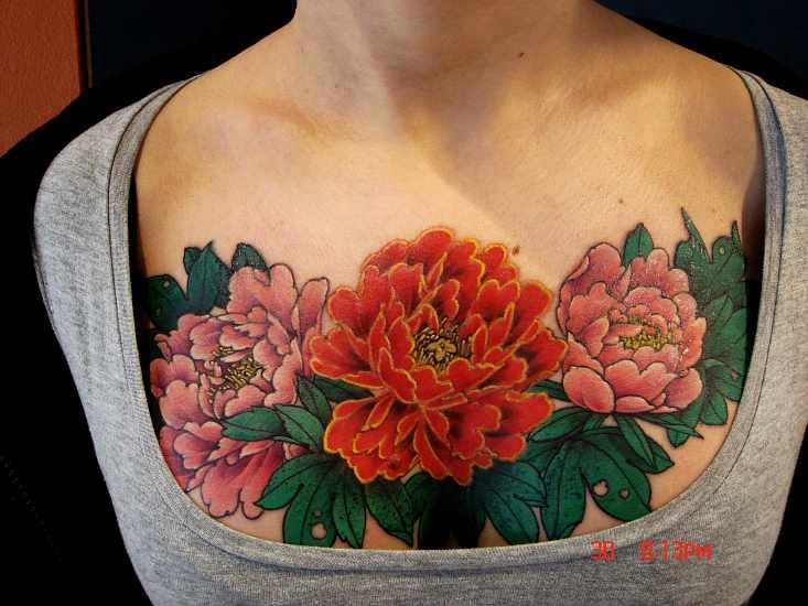 Asia Floral Tattoo Spirit