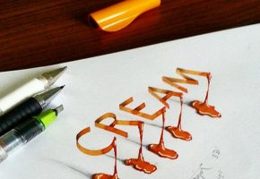 3D Calligraphy mit Tolga Girgin