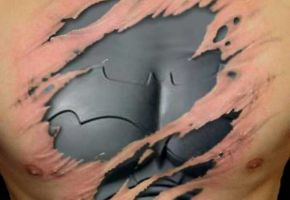 Unsere coolsten Batman Tattoos