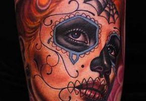 15 geniale La Catrina Tattoos
