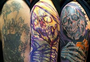 Richtig gute Cover-Up Tattoos