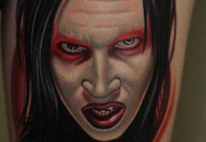 Marilyn Manson Tattoos