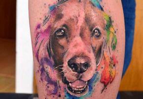 24 Wundervolle Hunde-Tattoos