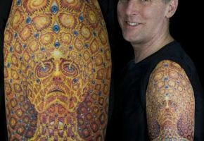 "20 amazing ""Alex Grey inspired"" Tattoos"