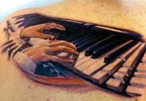 Die 15 schönsten Musik-Tattoos