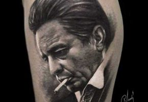 Die 16 schönsten Johnny Cash Tattoos