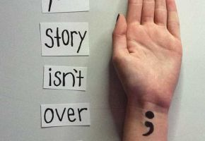 The Semicolon Project