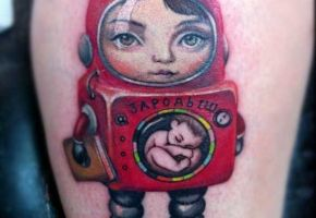 Mark Ryden inspirierte Tattoo-Motive