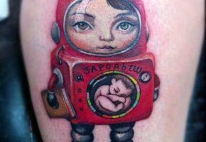 Mark Ryden inspirierte Tattoo-Motive