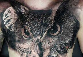 Die mystische Welt der Eulen-Tattoos