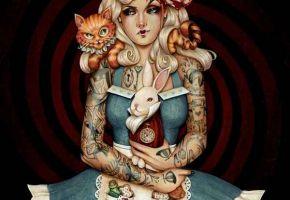 Fantasy-Tattoos nach Glen Arthur