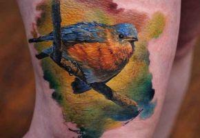 Besondere Vogel-Tattoos