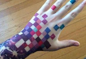 14 Funny Pixel Tattoos