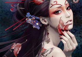 Tattooed Mangas - Zhang Xiao Bai