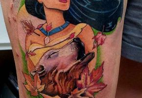 15 bezaubernde Pocahontas Motive
