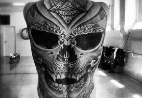 Black & Grey Monster Tattoos - Part 01