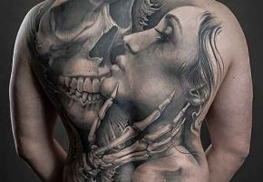 Black & Grey Monster Tattoos - Part 02