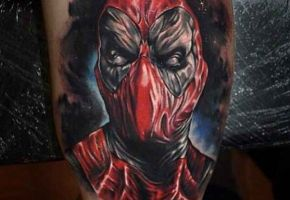 14 Geniale Deadpool-Tattoos