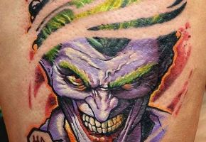 21 serious Joker-Tattoos