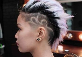 Undercut Hair-Tattoos