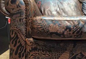 Irezumi Handpainted Leather