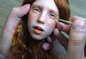 Creepy Dollfaces from Russia