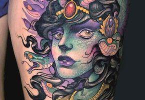 Bedeutung der Medusa Tattoos