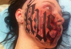 Face-Tattoo Disaster