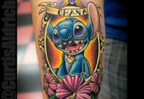 18 zauberhafte Stitch-Tattoos