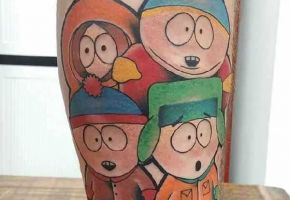 10 Funky South Park Tattoos