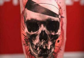 40 Crazy Skull-Tattoos