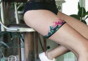 Korays geniale Aquarell-Tattoos
