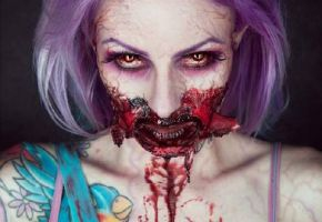 22 Creepy Makeup Nightmares by Sarah Mudle