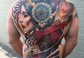 Neo-Traditional Tattoos mit Justin Hartman