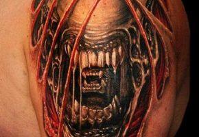 Scary Xenomorph Tattoos
