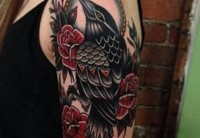 40 Amazing Raven Tattoos