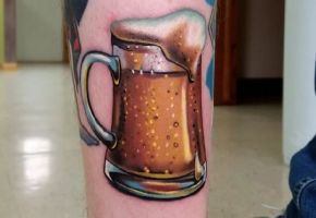 Bier Tattoos