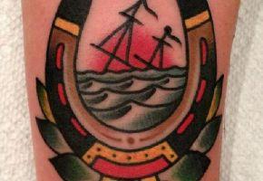 Hufeisen Tattoos