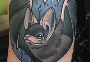 Fledermaus Tattoos