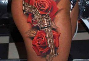 Polizeieinsatz wegen Tattoo