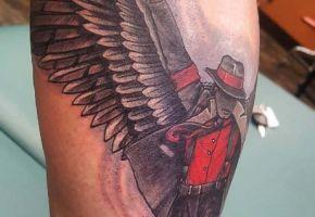 Prince Jackson zeigt sein Memorial Tattoo