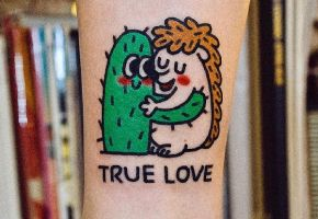 Funny-Tattoos from Seoul