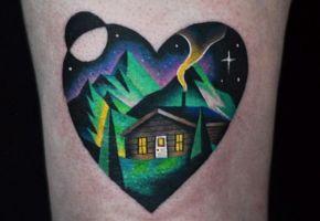 40 Mountain Tattoos