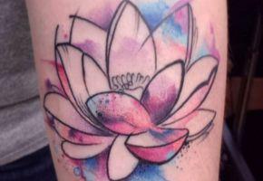 50 wundervolle Lotus-Tattoos