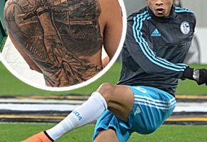 Ex-Schalker Sane mit Selfie-Tattoo