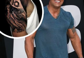 """The Rock"" Johnsons Tattoo endlich fertig"
