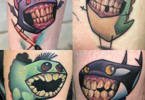 Kleine Zahn Monster von Josh Peacock
