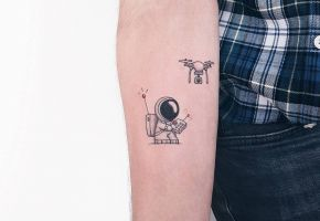 Micro Tattoos mit Ahmet Cambaz