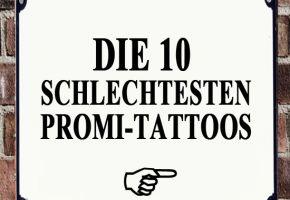 Die 10 schlechtesten Promi-Tattoos