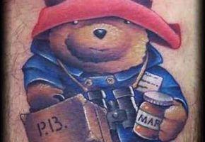 Bären-Tattoos
